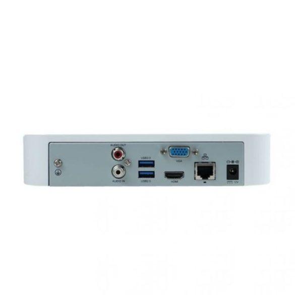 AXPRO-NVR201-04L 4 csatornás NVR, 1 SATA, Smart 1U, max. 24Mega