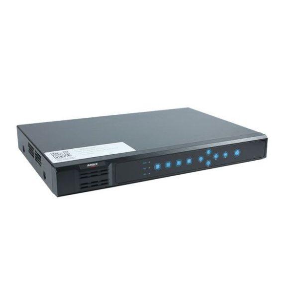AXPRO-NVR202-16E 16 csatornás NVR, 2 SATA, Mini 1U, max. 128Mega
