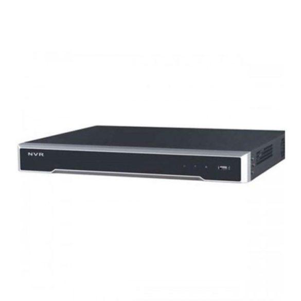 Hikvision DS-7608NI-I2/8P 8 csatornás PoE NVR; 80/256 Mbps be-/kimeneti sávszélesség; riasztás be-/kimenet