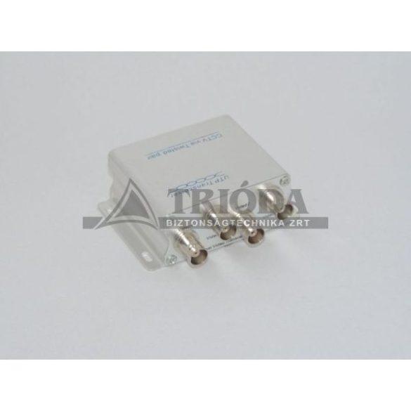 AXGL202 passzív video balun 4 csatornás, RJ45