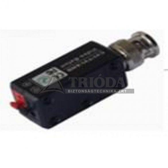 AV-202AHD Koax/UTP átalakító passzív,egyenes,gyorscsatlakozóval AHD,HDTVI, HDCVI