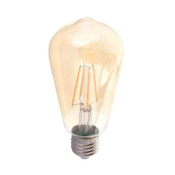 LED izzó, 4W, fényerőszabályozható, Edison dekor, 4368