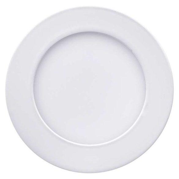 LED panel, 6W, beépíthető, mini, kör alakú, természetes fehér, 4855
