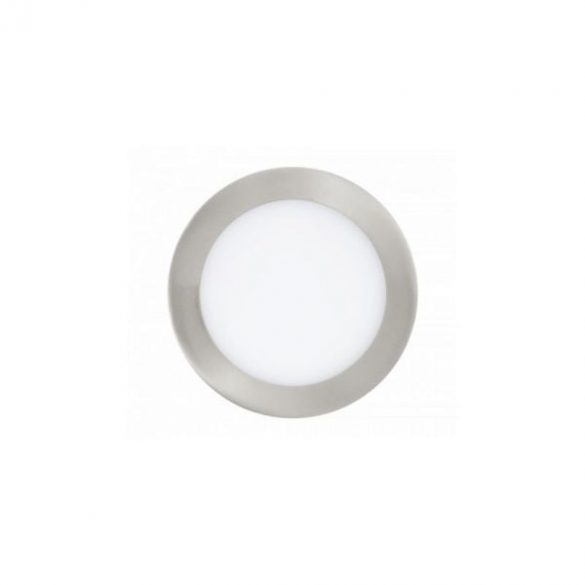 LED panel, 12W, mini, beépíthető, kör alakú, természetes fehér, 4858