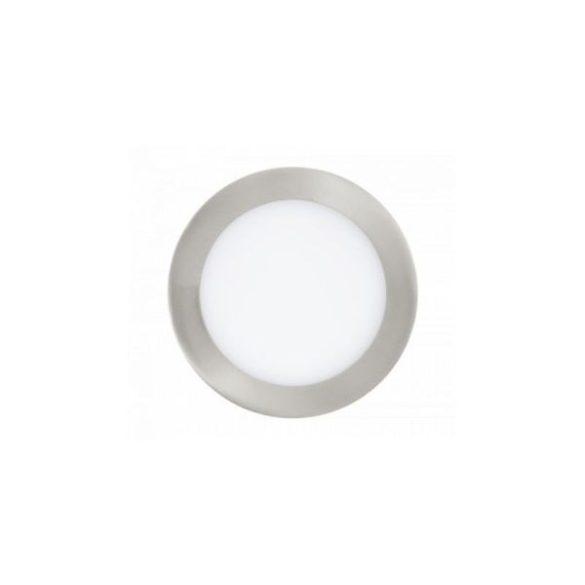 LED panel, 18W, beépíthető, mini, kör alakú, meleg fehér, 4860