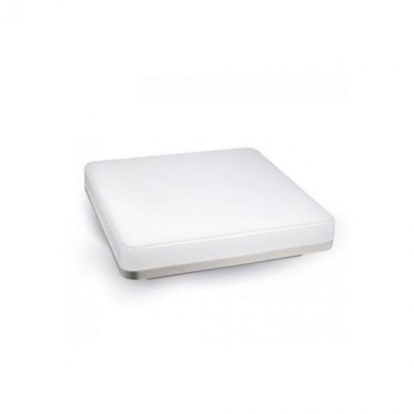 LÁMPATEST, 15W, keret nélküli, felületre szerelhető, kültéri, négyzet, természetes fehér, IP44, 5567