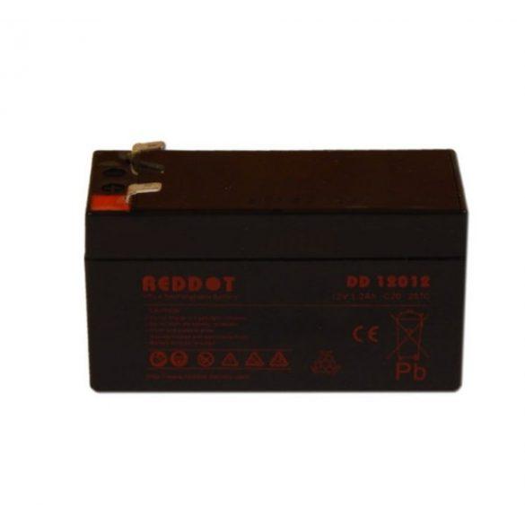 Reddot ARD-12012 12V 1.2Ah gondozásmentes akkumulátor