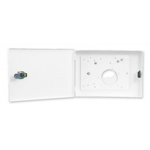 SATEL OBU-M-LCD Fém doboz, INT-KLCDL-GR, INT-KLCDL-BL, INT-KLCD-GR, INT-KLCD-BL, INT-KLCDR-GR és INT-KLCDR-BL kezelőkhöz
