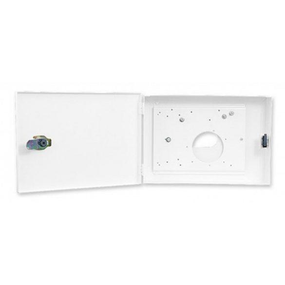 Satel OBU-M-LCD Fém doboz; INT-KLCDL-GR, INT-KLCDL-BL, INT-KLCD-GR, INT-KLCD-BL, INT-KLCDR-GR és INT-KLCDR-BL