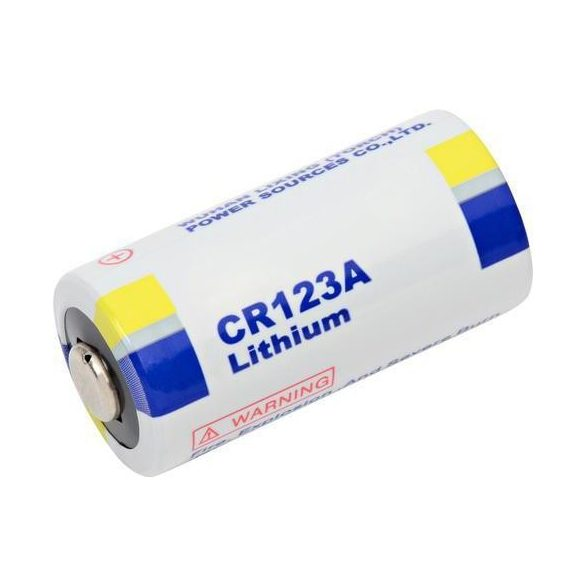 CR123 3V lithium elem