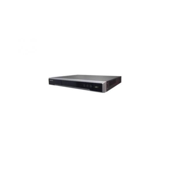 Hikvision DS-7632NI-I2/16P 32 csatornás NVR, 256Mbps rögzítési sávszélességgel, riasztási ki-, bemenettel, 16xPoE