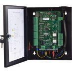 Hikvision DS-K2802 Ajtóvezérlő 2 ajtóhoz; két irány; 4 Wiegand olvasó; 2 esemény bemenet és 2 riasztási relé kimenet
