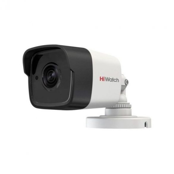 HIWATCH DS-T300 (3.6mm) 3MP felbontású, kültéri, fix lencsés, HD-TVI csőkamera