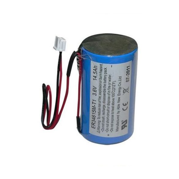 DSC WT4911BATAM 2 irányú kültéri hang-, fényjelző akkumulátor