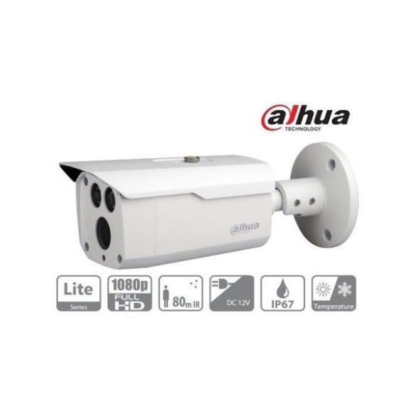 DAHUA HAC-HFW1200D-S3 1080P csőkamera,6mm,4/1,IR80m,ICR,IP67,DWDR