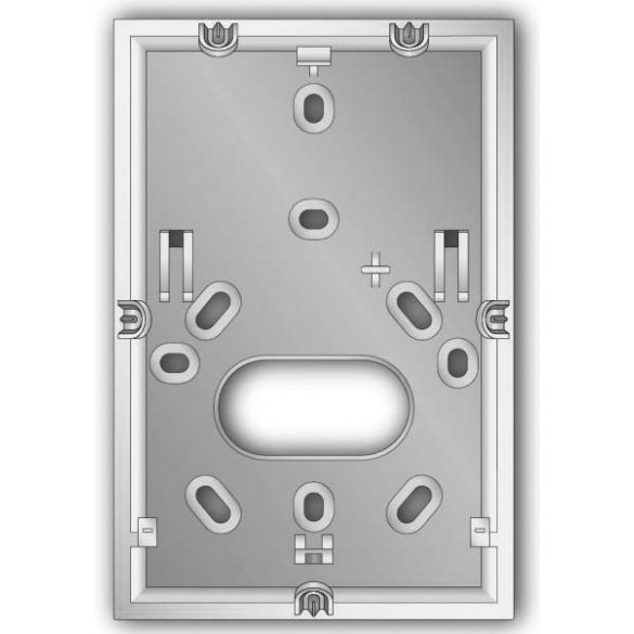 INIM IMB-KB100/B Kiemelő keret nCode és Concept kezelőkhöz, fehér