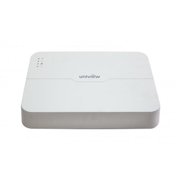 UNV NVR301-08L-P8 8 csatornás NVR, 1HDD, 8 port PoE támogatással