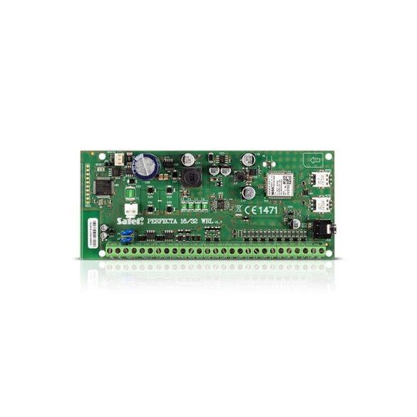 SATEL PERFECTA16 vezérlőpanel, alaplapi/max. programozható vezetékes zóna 8/16