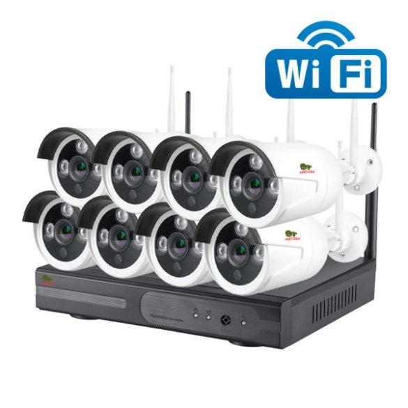 PARTIZAN 1241 - 8 kamerás kültéri vezeték nélküli szett 1MP(1MP, 3,6mm)