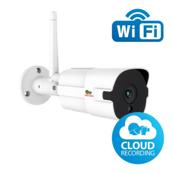 PARTIZAN 1553 WiFi-s, felhős bullet kamera (2mp, 2.8mm) - Felhő bullet FullHD (IPO-2SP WiFi v1.2)