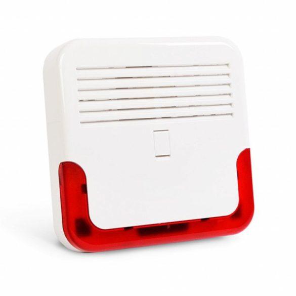 Satel SD-6000 R Kültéri, akkumulátoros hang- és fényjelző; ultrafényes LED-ek; dinamikus kürt; műanyag burkolat