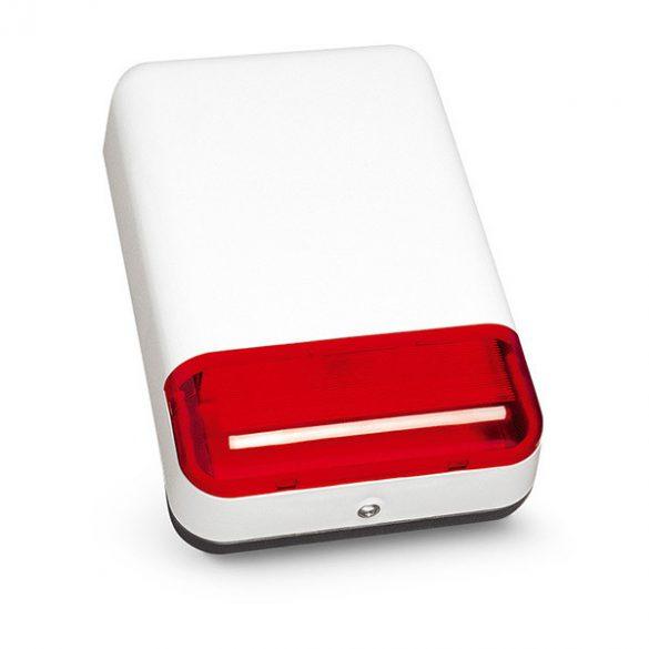 Satel SPL-2010 R Kültéri hang- és fényjelző; ultrafényes LED-ek; fém pajzs