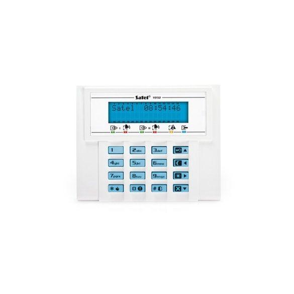 SATEL VERSALCDBL LCD kezelő VERSA riasztóközpontokhoz, kék háttérvilágítás