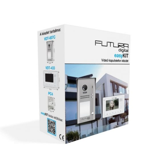 Futura VDK-43361 Easy Kit video kaputelefon szett